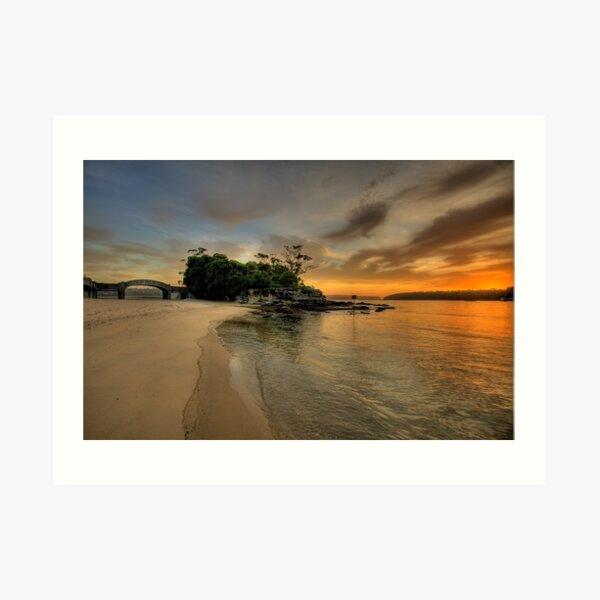 Balmoral Dreaming - Balmoral Beach - The HDR Series Art Print
