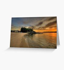 Balmoral Dreaming - Balmoral Beach - The HDR Series Greeting Card