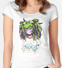 Cyber Women's Fitted Scoop T-Shirt