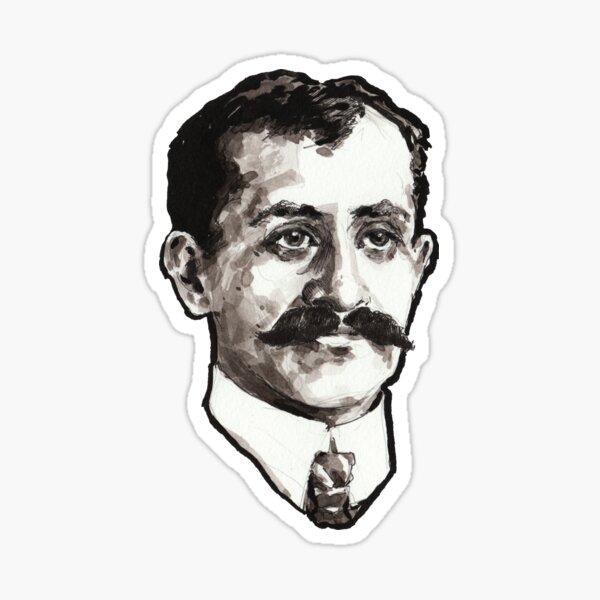 Orville Wright Portrait Sticker
