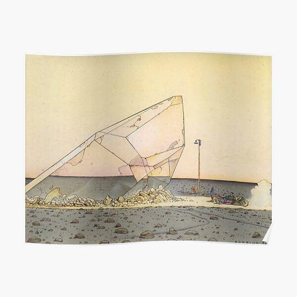 Cristal de Moebius Póster