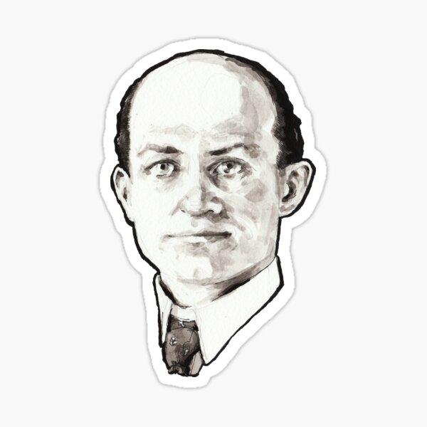 Wilbur Wright Portrait Sticker