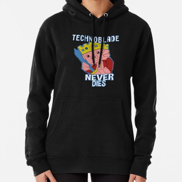 Technoblade Never Dies Pullover Hoodie