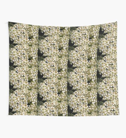 Hawthorne flowers Wall Tapestry