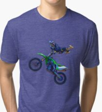 Motocross-Luftstuntfahrer II Vintage T-Shirt