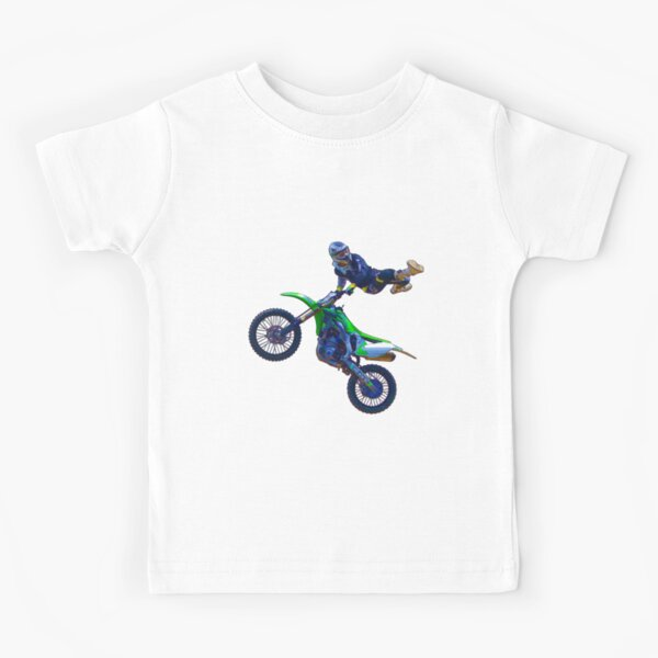 Motocross Aerial Stunt-rider II Kids T-Shirt
