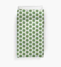 Irish Shamrock - 100% Green Duvet Cover