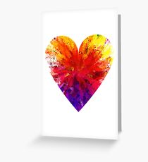Rainbow Heart Greeting Card