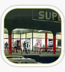 Superlight - After Dark at the Supermarket Sticker