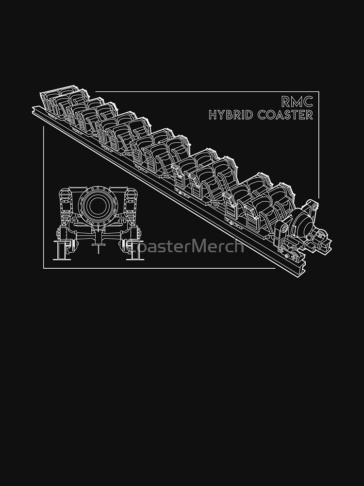 RMC Hybrid Coaster Blueprint Design by CoasterMerch