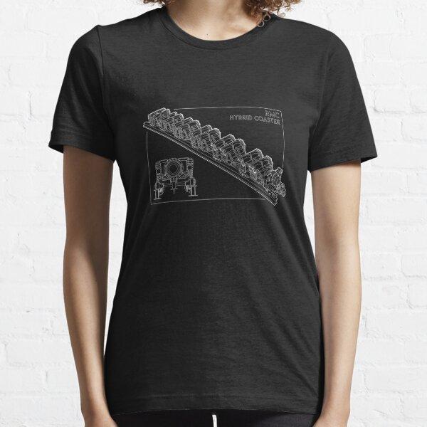 RMC Hybrid Coaster Blueprint Design Essential T-Shirt