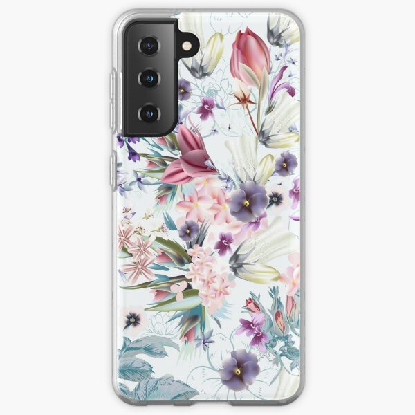 Spring and Summer Flowers Samsung Galaxy Soft Case