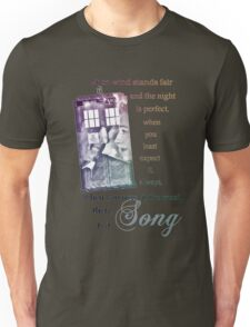 There is a Song, Doctor Who, Husbands of River Song Unisex T-Shirt