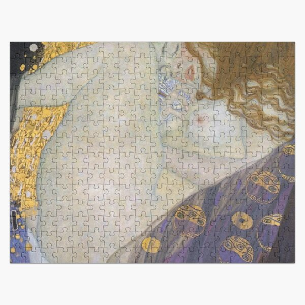 #Danae by Gustave Klimt #GustaveKlimt Густав Климт - #Даная, 1907г #ГуставКлимт Jigsaw Puzzle