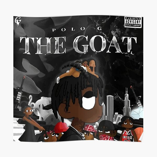 "Polo G /""THE GOAT/"" Art Music Album Poster HD Print 12/"" 16/"" 20/"" 24/"" Sizes"