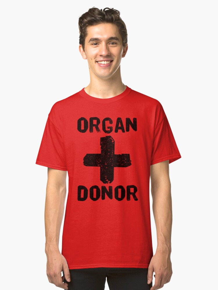 170f4d89fc0 Organ Donor Black