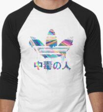 Addict Iridescent Men's Baseball ¾ T-Shirt