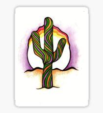 Saguaro Sunset Sticker