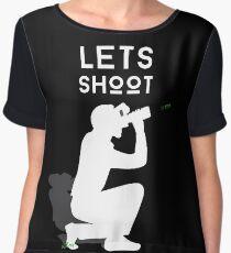 Let's Shoot Women's Chiffon Top