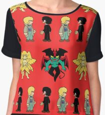Devilman Chiffon Top
