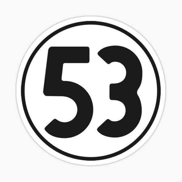 53 Sticker