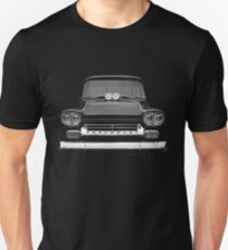 1958 Chevy Apache - high contrast Unisex T-Shirt