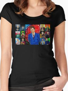 The Doctor of the Universe - The Hero Women's Fitted Scoop T-Shirt