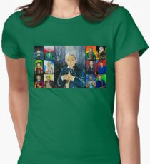The Doctor of the Universe - The First Womens Fitted T-Shirt