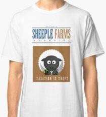 "Sheeple Farms: ""Delbert"" Classic T-Shirt"