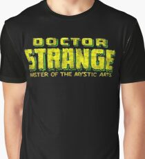 Doctor Strange - Classic Title - Dirty Graphic T-Shirt