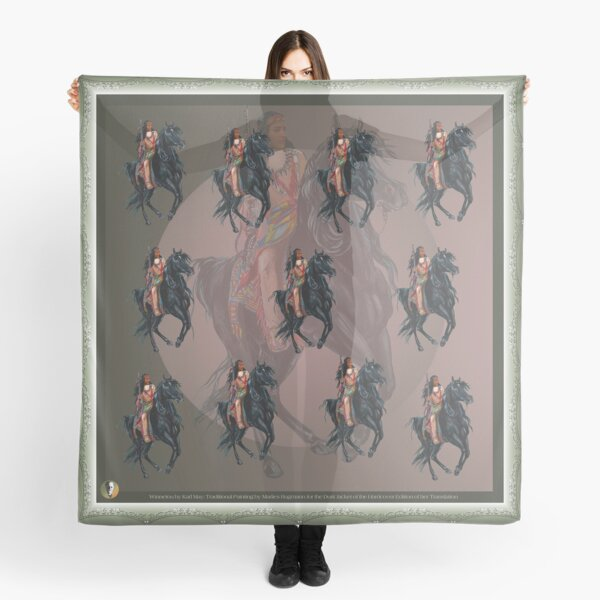 Winnetou by tasmanianartist for Karl May Friends Scarf