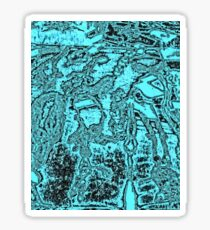 Jewellery Abstract  Sticker