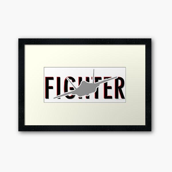 F35 Framed Art Print