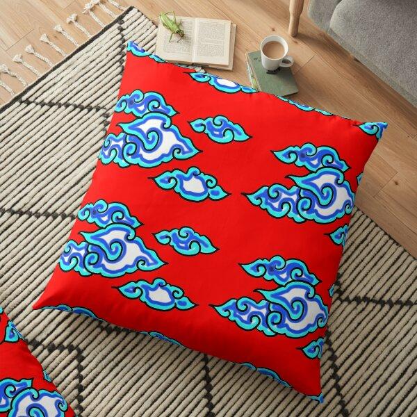 Batik Mega Mendung Floor Pillow