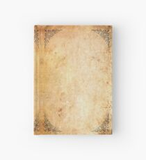 Framed Corners Aged Paper Hardcover Journal
