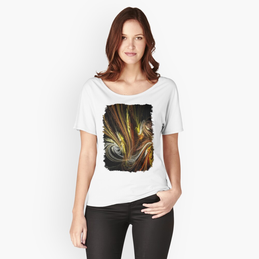 Festive Women's Relaxed Fit T-Shirt Front