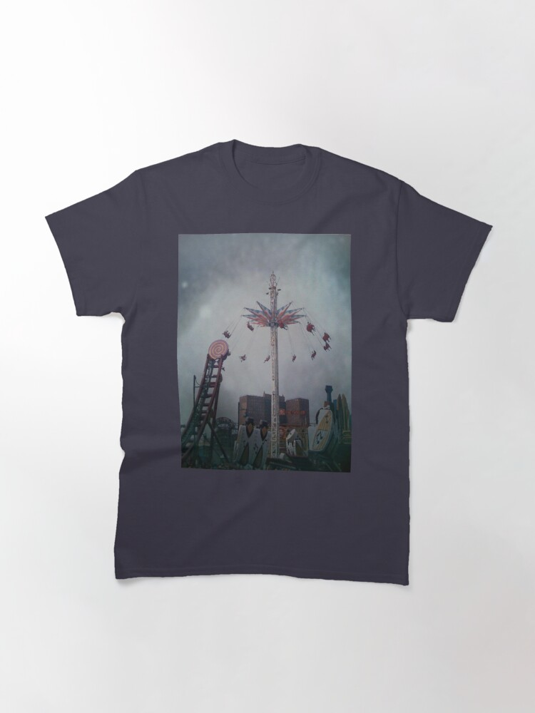 Alternate view of Top of the World - Coney Island Brooklyn Art Photo - Brooklyn Lover Gift Classic T-Shirt