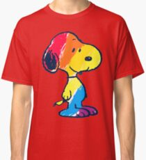 Snoopy Colorful Classic T-Shirt
