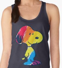 Snoopy Colorful Women's Tank Top