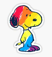 Snoopy Colorful Sticker