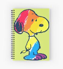 Snoopy Colorful Spiral Notebook