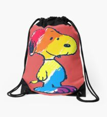 Snoopy Colorful Drawstring Bag