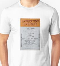 Expedition Everest Fastpass Unisex T-Shirt