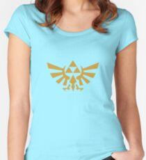 Camiseta entallada de cuello ancho Zelda