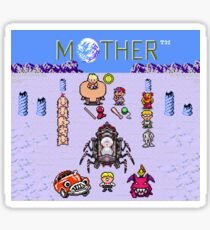 Earthboudn Mother Reference Smash Brothers Sticker
