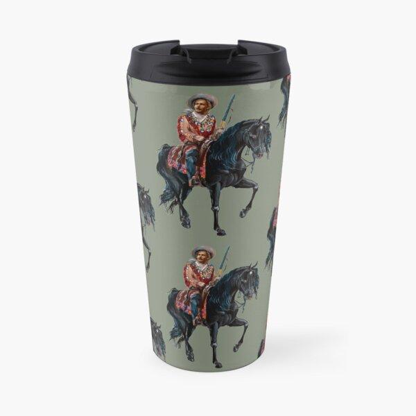 Old Shatterhand by tasmanianartist for Karl May Friends Travel Mug
