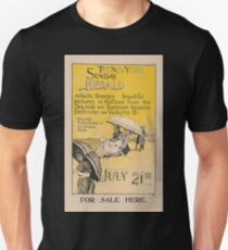 Artist Posters The New York Sunday Herald July 21st 1895 0959 T-Shirt