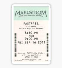 Maelstrom Fastpass Sticker