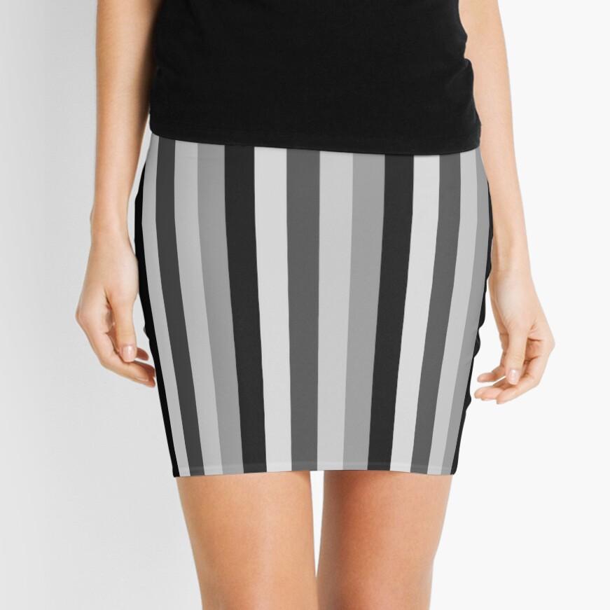 Shades of grey Mini Skirt