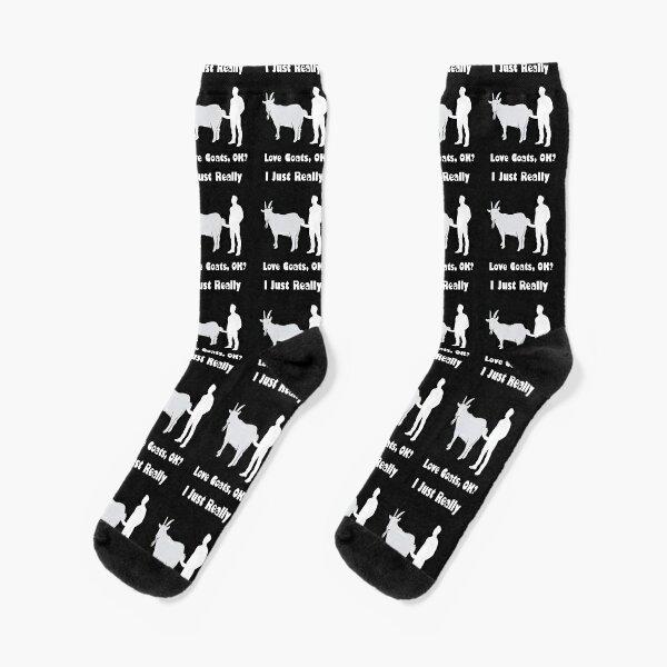I Just Really Love Goats, OK? Socks